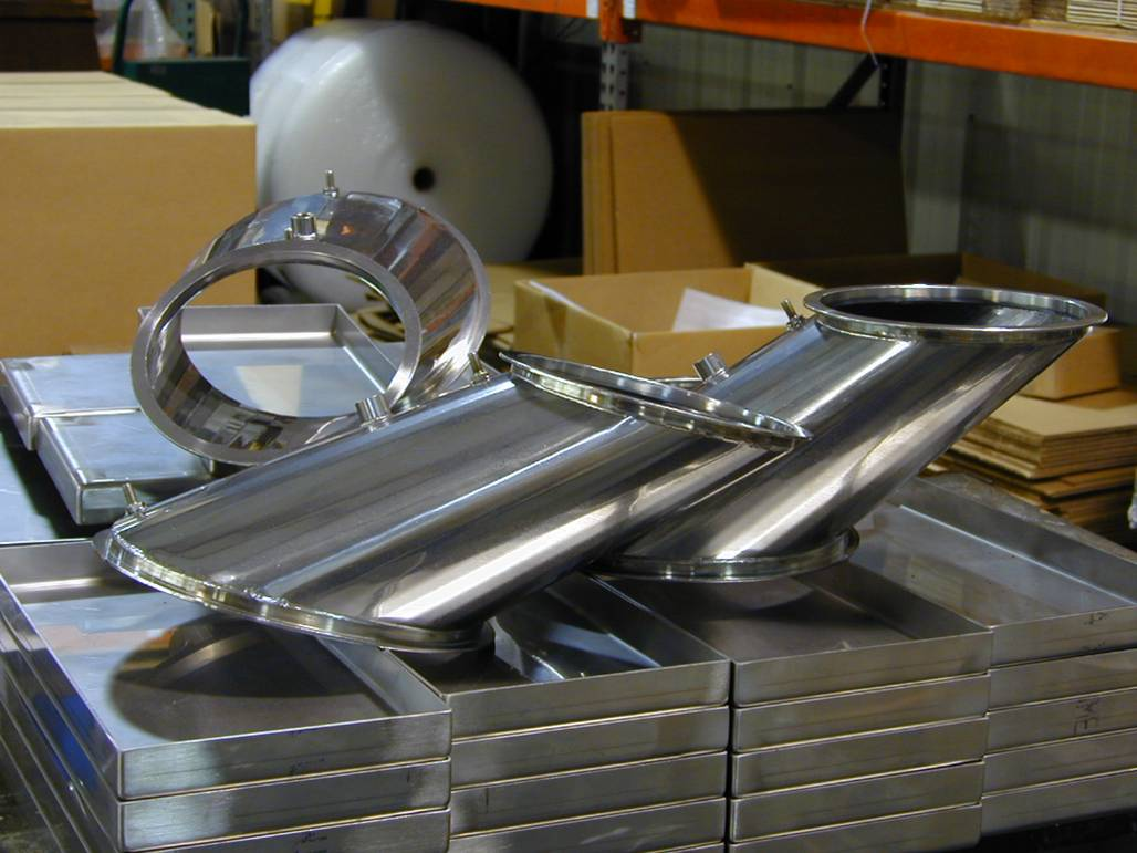 Stainless Transition & Tray Weldments