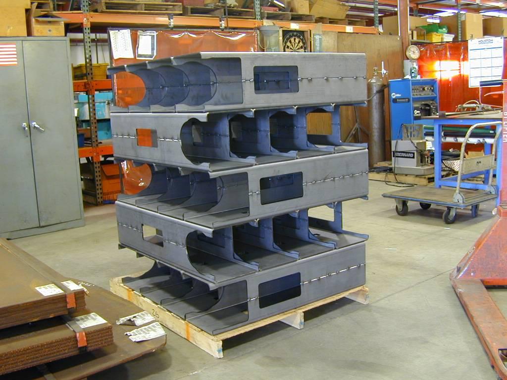 machine column weldments