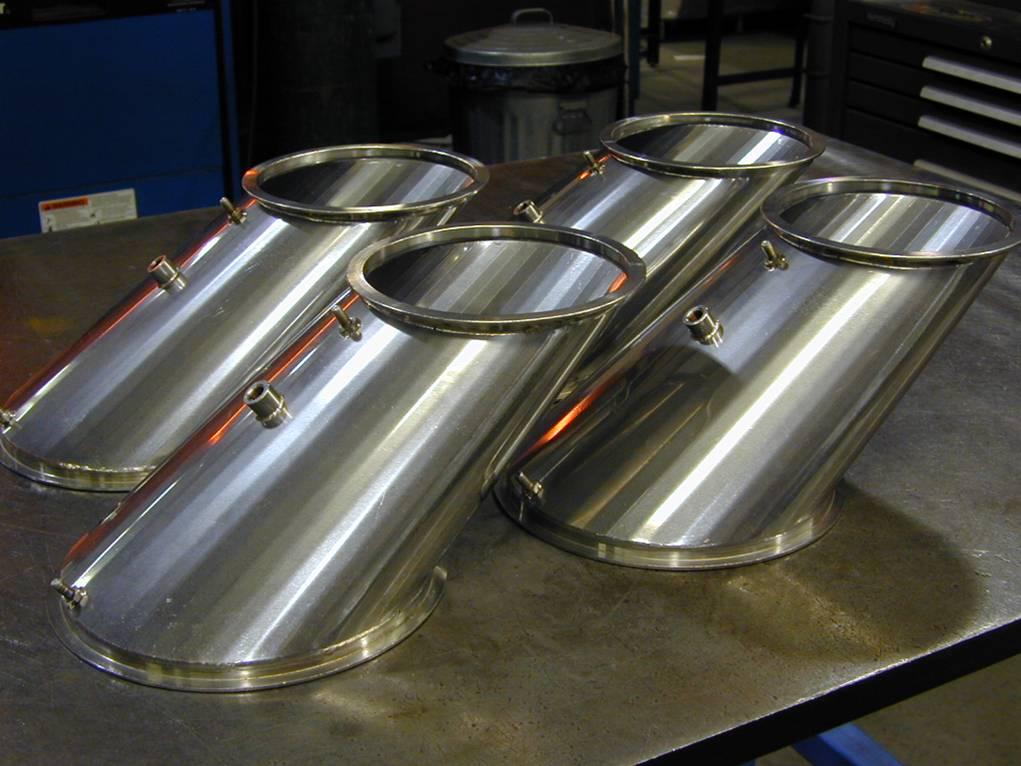sheet metal transition weldments