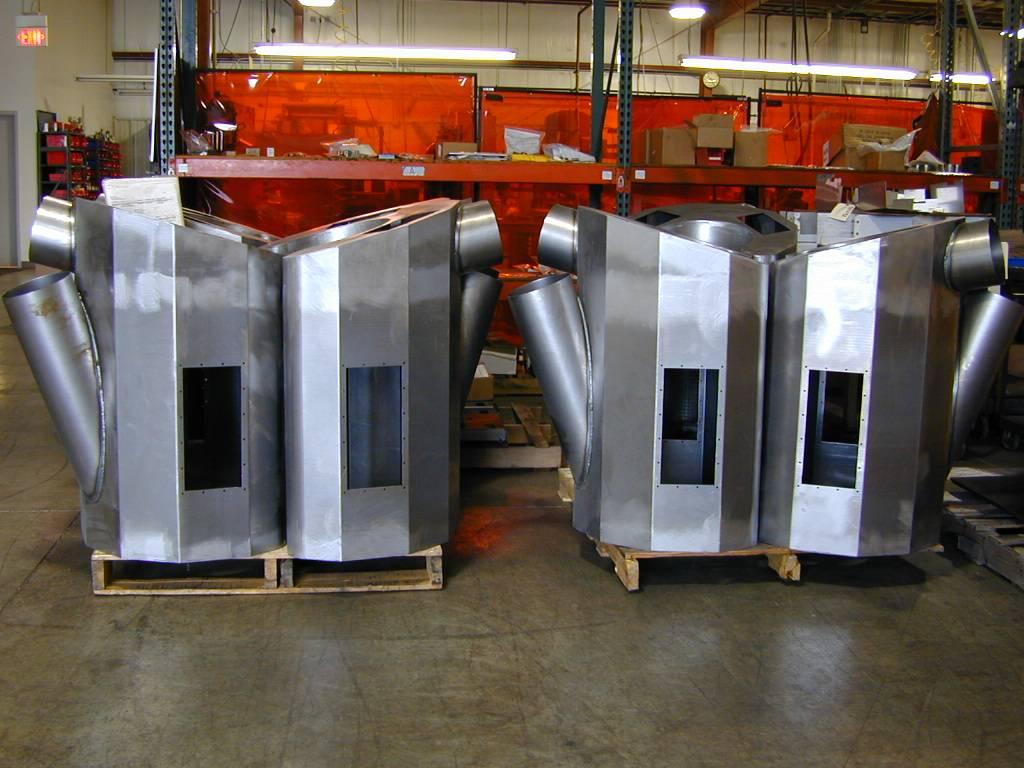 steel air handling weldments